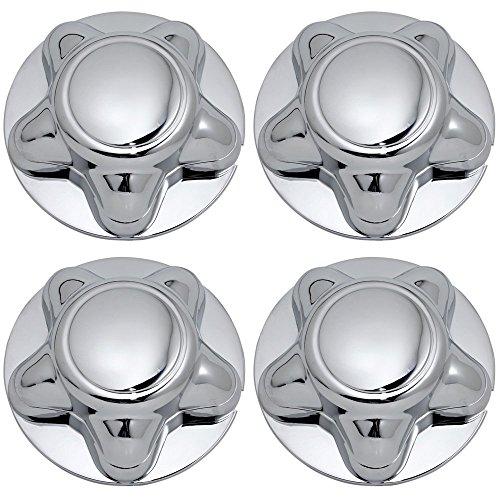 Center Caps Best for 1995-1998 Ford Explorer (Set of 4) Chrome Wheel Cover ()