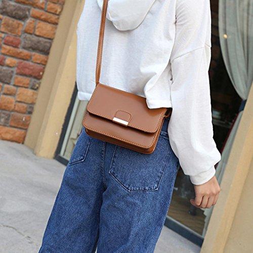 para de ✦JiaMeng Café Hebilla Crossbody Bolsos Mujeres Señoras Pequeño Mujer Hombro Niñas Patchwork Casual Moda Bolso de Aleta de Mano Bolsos Tqq4gS