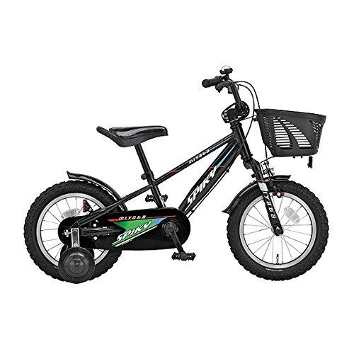 ミヤタ(MIYATA) 子供用 自転車 スパイキーキッズ SPIKY KIDS FCK187 (OKK3) ブラックブラック B077NSLFWT