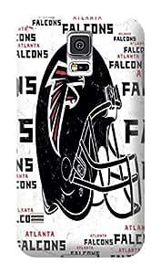 DIY Dazzlling NFL Atlanta Falcons Hard Case Cover Fit For Samsung Galaxy S5