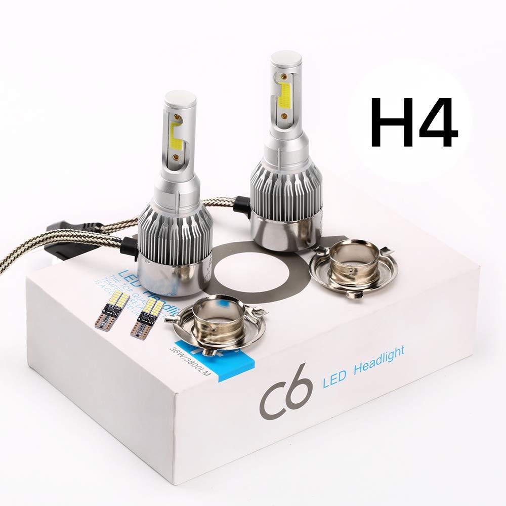 with T10 4041 24 light FYSZ H8//H9//H11 Car 12V 55W 6000K Halogen Bulbs Super Bright White Fog Lights High Power Headlight Lamp Light Source,White