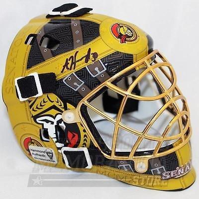 Andrew Hammond Ottawa Senators Signed Autographed Hamburglar Mini Goalie Mask