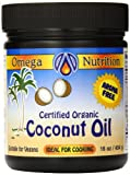 omega organic coconut oil - Omega Nutrition Coconut Oil, 454-Grams by Unknown