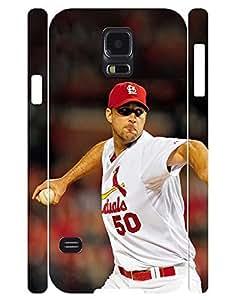 Terrific Theme Smart Phone Case Inspirer Men Baseball Player Pattern Snap On Case Cover for Samsung Galaxy S5 I9600 (XBQ-0051T)
