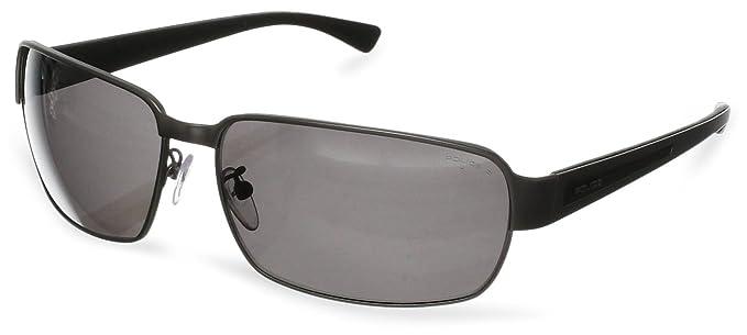 Amazon.com: Police S8653 – 629p Wrap anteojos de sol, Gris ...