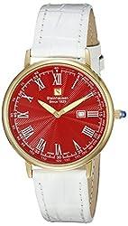 Steinhausen Men's GWL493GRWA Dunn Luxe Analog Display Swiss Quartz White Watch