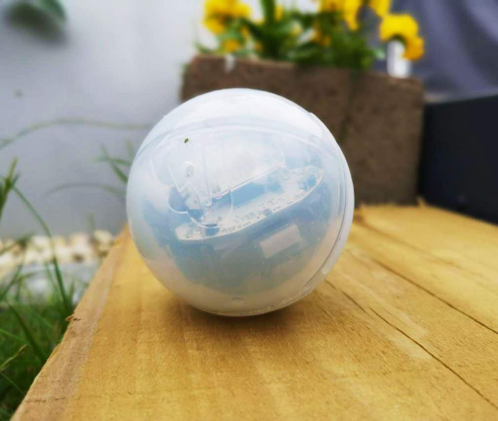 Hexnub Lightning Cover for Sphero Bolt Coding Robot Ball Toy Protect Your Kids Stem Toys Increase Traction Enhance Gameplay Three Awesome Colors Frosty Clear