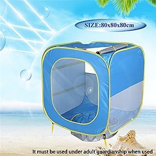 Xueliee bébé Tente de plage Pop Up Portable Abat-jour piscine 50SPF protection UV Sun Shelter pour bébé A2