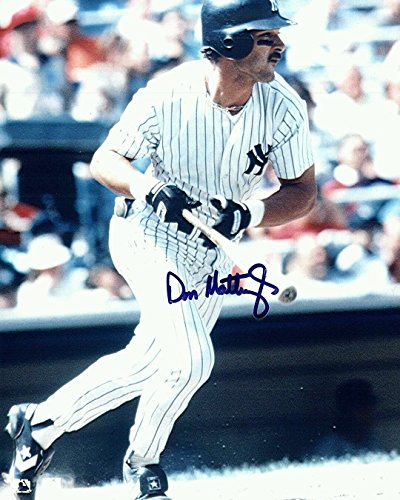 Don Mattingly In Person Signed New York Yankee Great Hitman