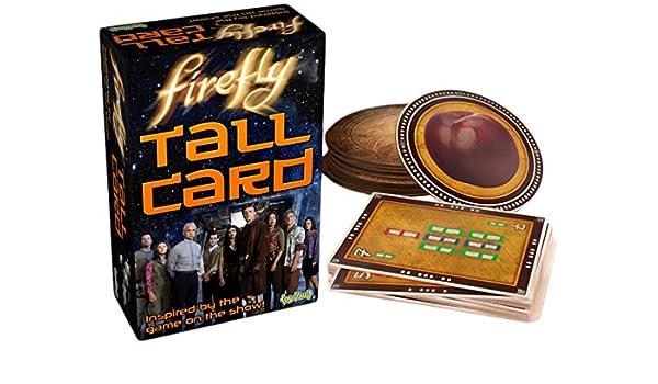 Toy Vault tyv23006 Firefly Tall Juego de Cartas: Amazon.es: Juguetes y juegos