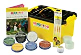 Face Painting Mini Starter Kit Water-Based, Easy-On & Easy-Off and Non-Toxic by Snazaroo
