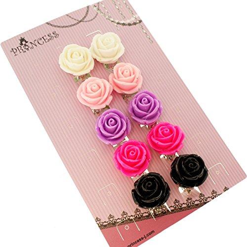 5 Pair Fashion Earrings - 2