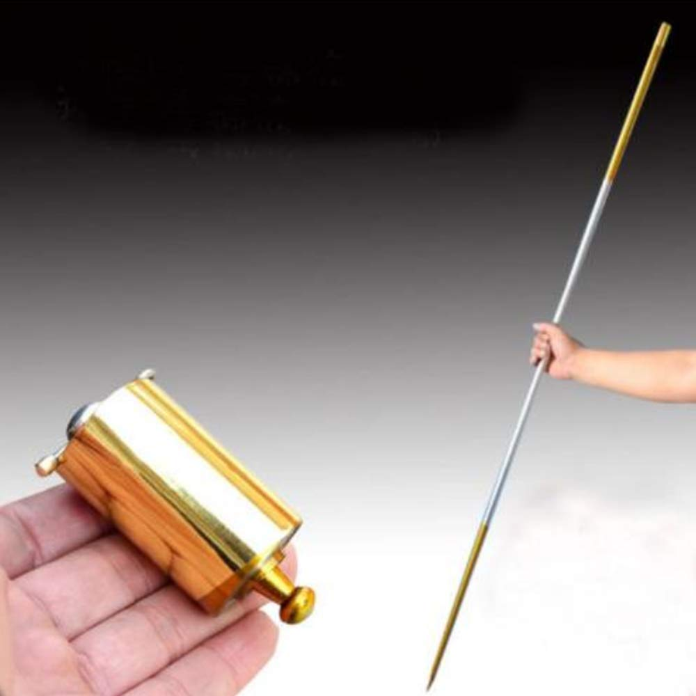 WSNMING 110CM Metal Steel Appearing Canes Stage Magic Wands Accessories Magic Cane Stage Magic Trick, Classic Magic