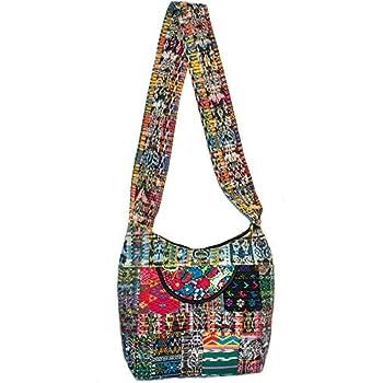 Boho Purse Sling Hippie Bag Crossbody Patchwork Hobo Handbags for Women  Long Strap Gym Travel Spacious c22d083498714