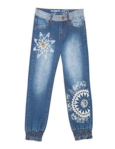5006 Niñas para Jeans Jeans Azul Desigual Fernan Denim qUf0I