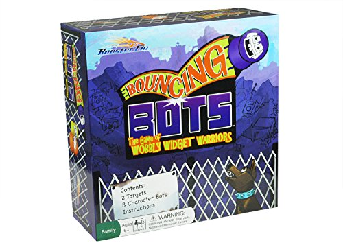 Bouncing Bots Family Board Game - Fun Toy for All Ages, Kids and Adults 7 Years and Up - Teamwork Board Games
