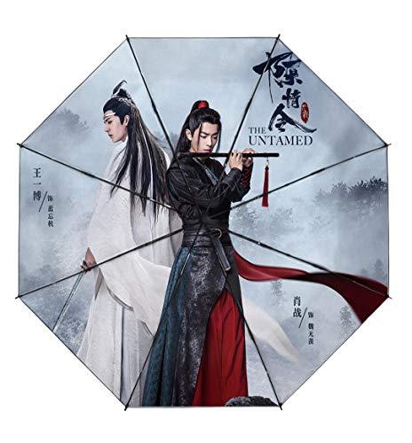 The Untamed Wei Wuxian Lan Wangji Xiao Zhan and Wang Yibo Custom Umbrellas