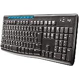 ロジクール ワイヤレスキーボード[2.4GHz USB・Win/Chrome] ワイヤレスキーボード (108キー・ブラック) K275