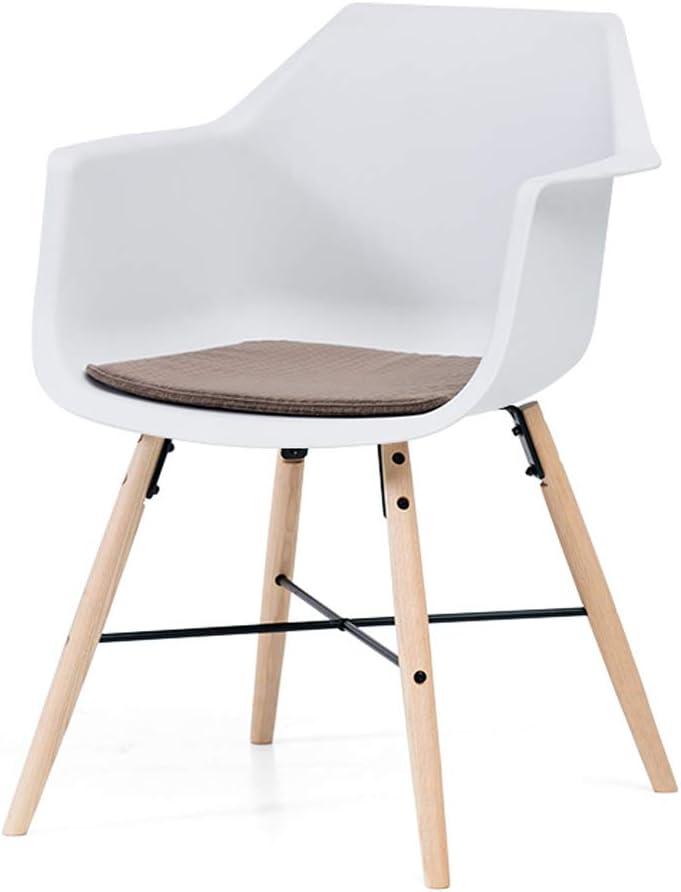 Pll European Dining Chair Modern Simple Office Chair Holster Wooden Chair Back Chair Household Desk Chair Computer Chair White 4 Amazon De Kuche Haushalt