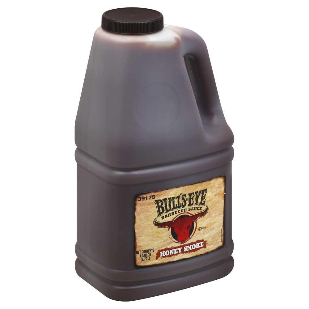 Sauce Bulls Eye Honey Smoke Barbecue 4 Case 1 Gallon by Bullseye