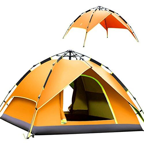 影響する物理金銭的YDYLZC- テント、自動ファミリー個人2人3-4人キャンプ場屋外テント 柔らかい