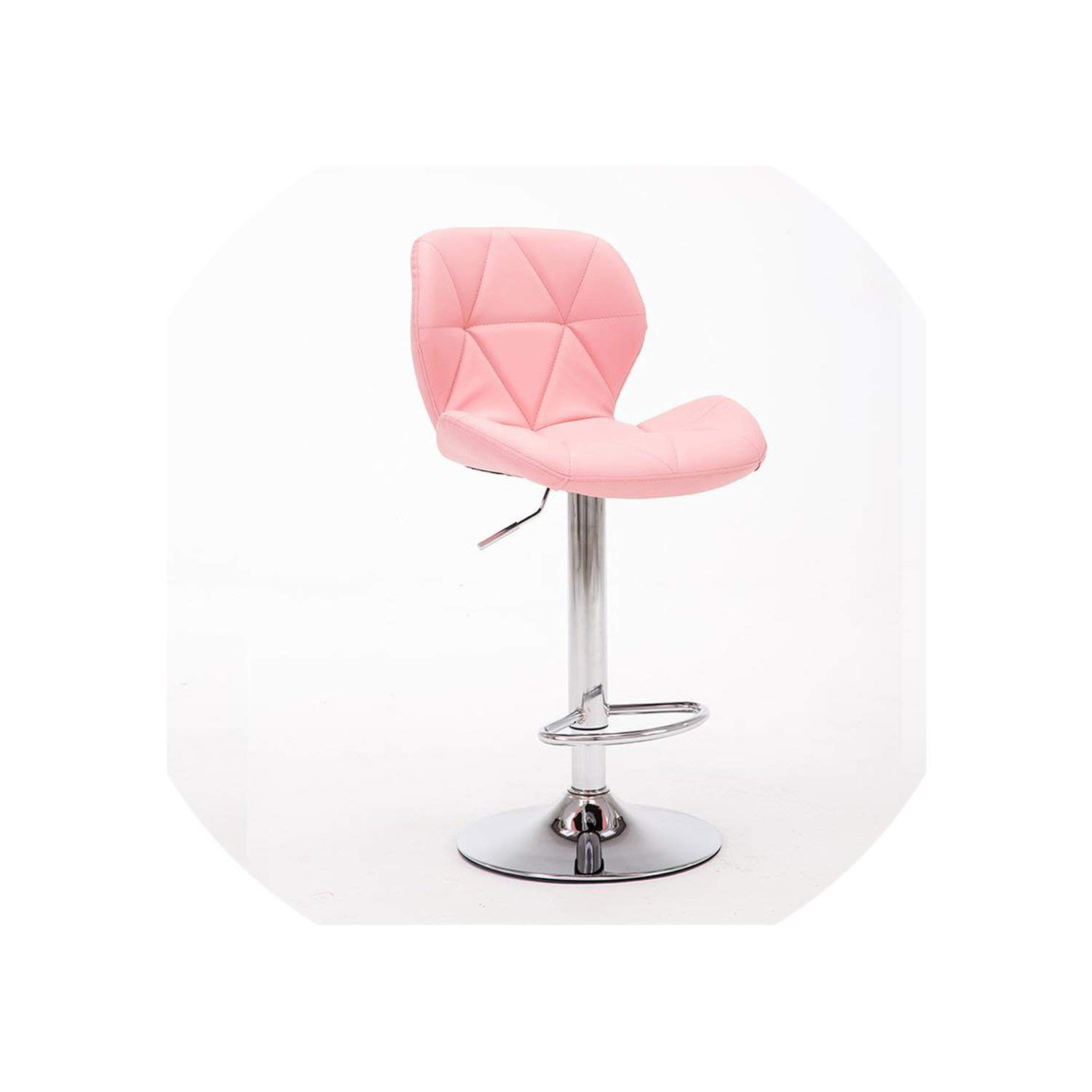 Style 1 tthappy76 New Bar Stools Bar Chair redating Lift Chair High Stools Home Fashion Creative Beauty Stool Swivel Chair,Style 9