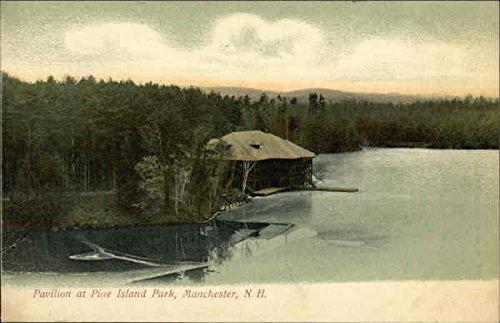 Pavilion at Pine Island Park Manchester, New Hampshire Original Vintage - Store Pavilions