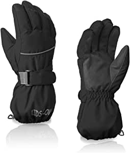 LoveKids Waterproof Warmest Winter Snow Gloves for Boys and Girls