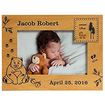 Amazon Personalized Baby Picture Frame Baby Boy Picture Frame