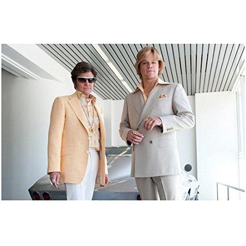 Behind the Candelabra 8inch x 10inch Photo Michael Douglas Sunglasses & Peach Jacket w/Matt Damon Double Breasted Suit kn