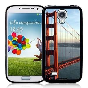 Cool Painting Golden Gate Bridge San Fransisco - Protective Designer BLACK Case - Fits Samsung Galaxy S4 i9500