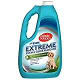 Simple Solution Extreme Pet Stain and Odor Remover | Enzymatic Cleaner with 3X Pro-Bacteria Cleaning Power | Spring Breeze, 1 Gallon (pack of 1)