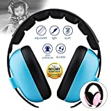 Baby Noise Cancelling HeadPhones, Baby Earmuffs, Baby Headphones, Baby Ear Protection, Baby hearing protection noise reduction, Blue