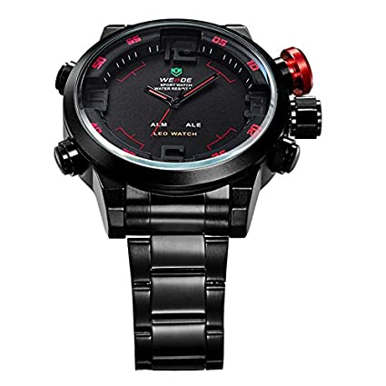 Amazon.com : Relojes de Hombre Sport Quartz Military Army Water Resistant De Hombre Para Caballeros NMRE009 : Everything Else