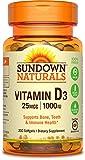 Sundown Naturals® Vitamin D3 1000 IU, 200 Softgels