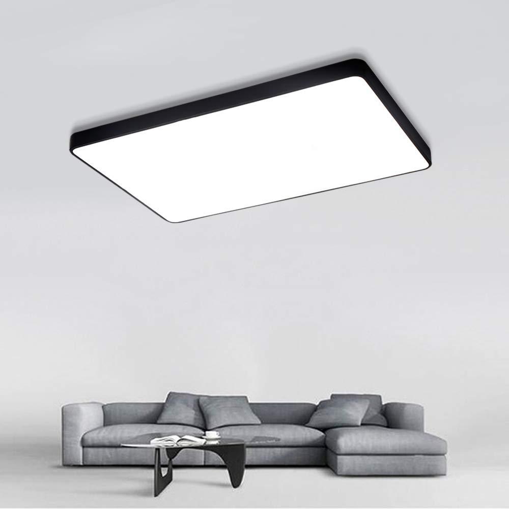 COOSNUG 60W Modern LED Deckenleuchte Kaltwei/ß Wei/ß Rund Deckenlampe Flur Wohnzimmer Lampe Schlafzimmer K/üche Energie Sparen Licht Wandleuchte Energieklasse A++