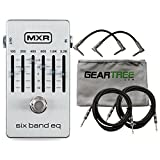 MXR M109S Six Band EQ Pedal w/ Cloth and 4 Cables