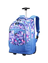 High Sierra Chaser Wheeled Laptop Backpack, Shine Blue/Lapis