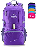 Venture Pal Lightweight Packable Durable Travel Hiking Backpack Daypack (Purple) …