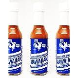 Adoboloco Hawaiian Chili Pepper Water Hot Sauce - Medium to Hot, Hot Sauce - 3, 5oz Bottles (3 Pack)