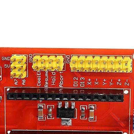 Kuhe Tarjeta de expansión LDTR-DM20 Arduinos CNC Shield V4 for la ...