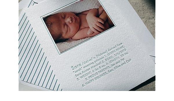 Amazon com: Birth Announcements Sara: Health & Personal Care