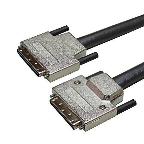 USAC SCSI â…¢ 68P Plug VHDCI W/Thumb Screw Cable(7M)