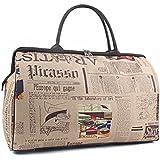 Tinksky Moda viaje Unisex impermeable bolsa bolso