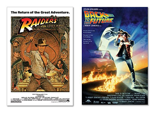 Raiders Of The Lost Ark & Back To The Future - 80's Favorites Movie Poster Set (Size: 27