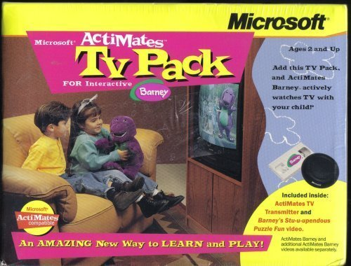 Microsoft Actimates TV Pack for Interactive Barney