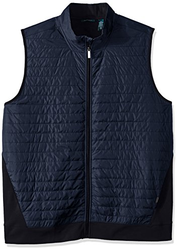 Perry Ellis Mens Quilted Media