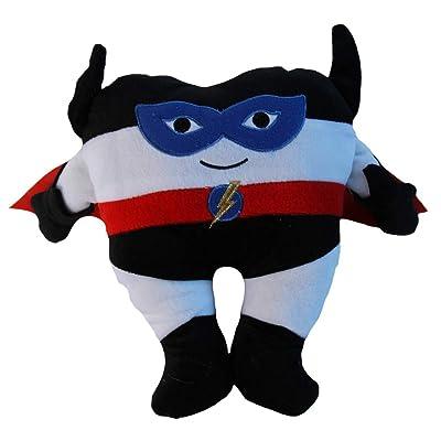 "Snuggle Stuffs Boys Plush Superhero Tooth Fairy Pillow with Pocket, 11"": Toys & Games"