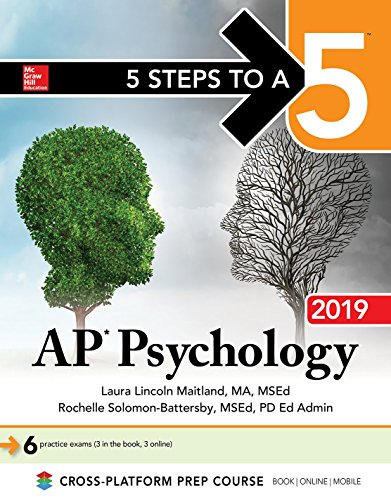 5 Steps to a 5: AP Psychology 2019 (5 Steps to A 5 on the Advanced Placement Examinations)
