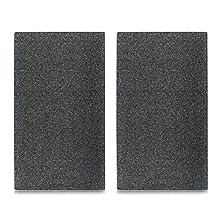 Zeller 26255 - Tabla para cortar de cristal, granito antracita, 52 x 30 cm, Set con 2 unidades